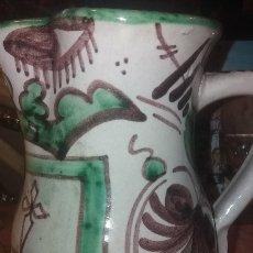 Antigüedades: JARRA DE DOMINGO PUNTER 18 X 15 CM. Lote 217719960