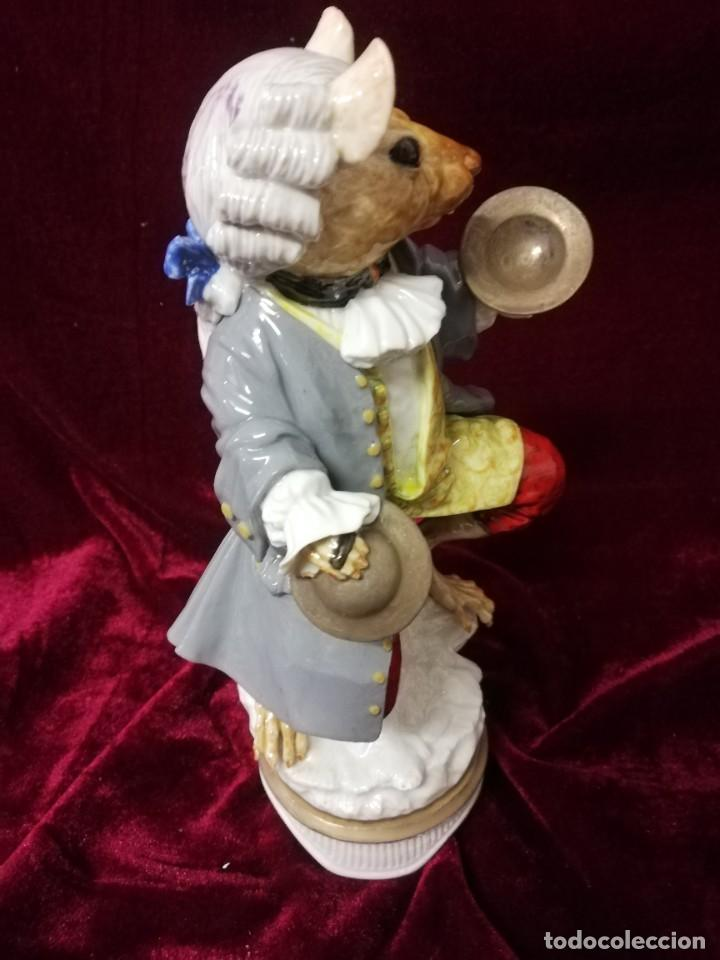 Antigüedades: Raton porcelana algora - Foto 5 - 217736653