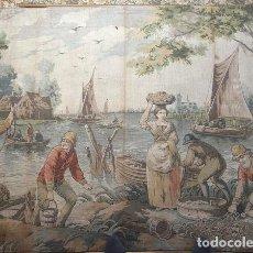 Antigüedades: TAPIZ COLECCIÓN. Lote 217742857