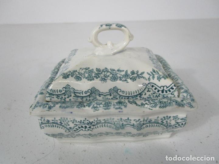 Antigüedades: Pequeña Sopera Antigua - Sargadelos - S. XIX - Foto 2 - 217764973