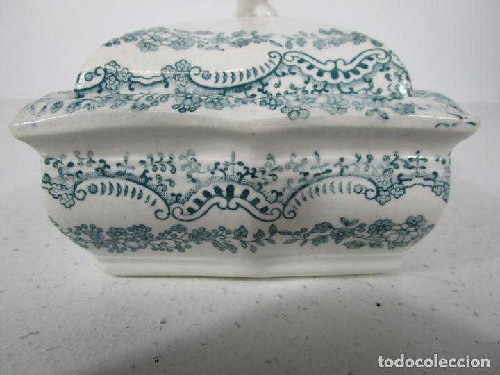 Antigüedades: Pequeña Sopera Antigua - Sargadelos - S. XIX - Foto 5 - 217764973