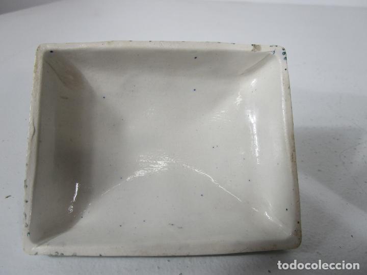 Antigüedades: Pequeña Sopera Antigua - Sargadelos - S. XIX - Foto 16 - 217764973