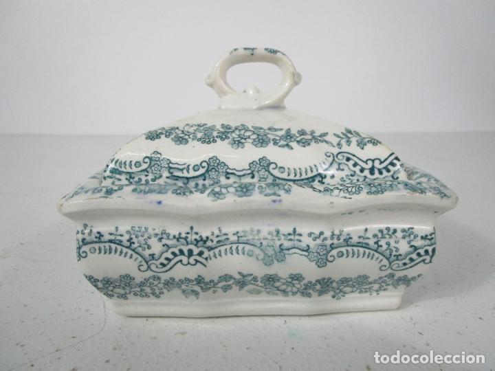 PEQUEÑA SOPERA ANTIGUA - SARGADELOS - S. XIX (Antigüedades - Porcelanas y Cerámicas - Sargadelos)