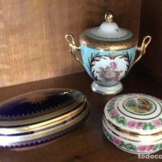 Antigüedades: LOTE PORCELANA LIMOGES. Lote 217810095