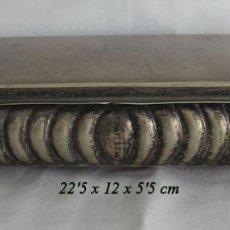 Antigüedades: CAJA JOYERO ALPACA VINTAGE. Lote 217827436