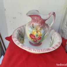 Antigüedades: PALANGANA Y JARRA DE LAVABO. Lote 217832745
