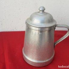 Antigüedades: JARRA DE ALUMINIO. Lote 217833400