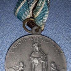 Antigüedades: ANTIGUA MEDALLA ARCHICOFRADIA DE HIJAS DE MARIA Y SANTA TERESA DE JESUS. Lote 217836836
