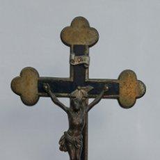 Antigüedades: JESUCRISTO EN LA CRUZ DEL SIGLO XIX. Lote 217880538