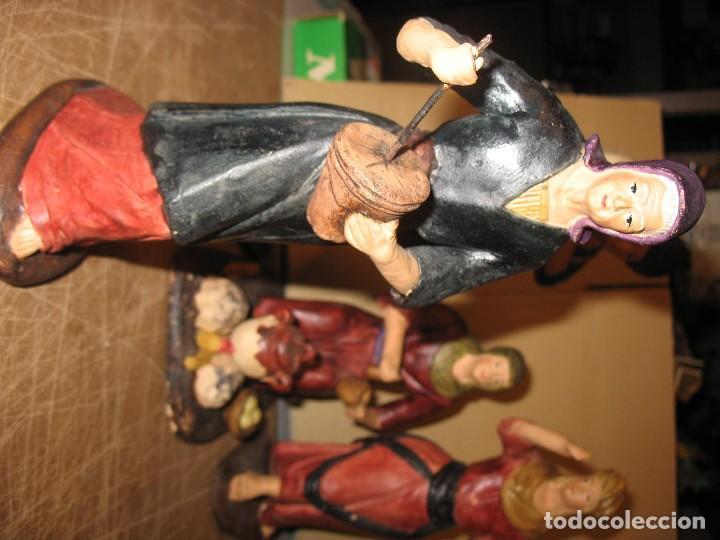 Antigüedades: figuras de pesebre grandes mujeres 22cm. alto - Foto 9 - 217882637