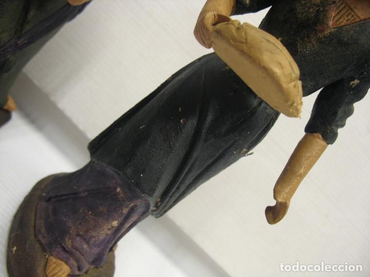 Antigüedades: figuras de pesebre grandes mujeres 22cm. alto - Foto 15 - 217882637