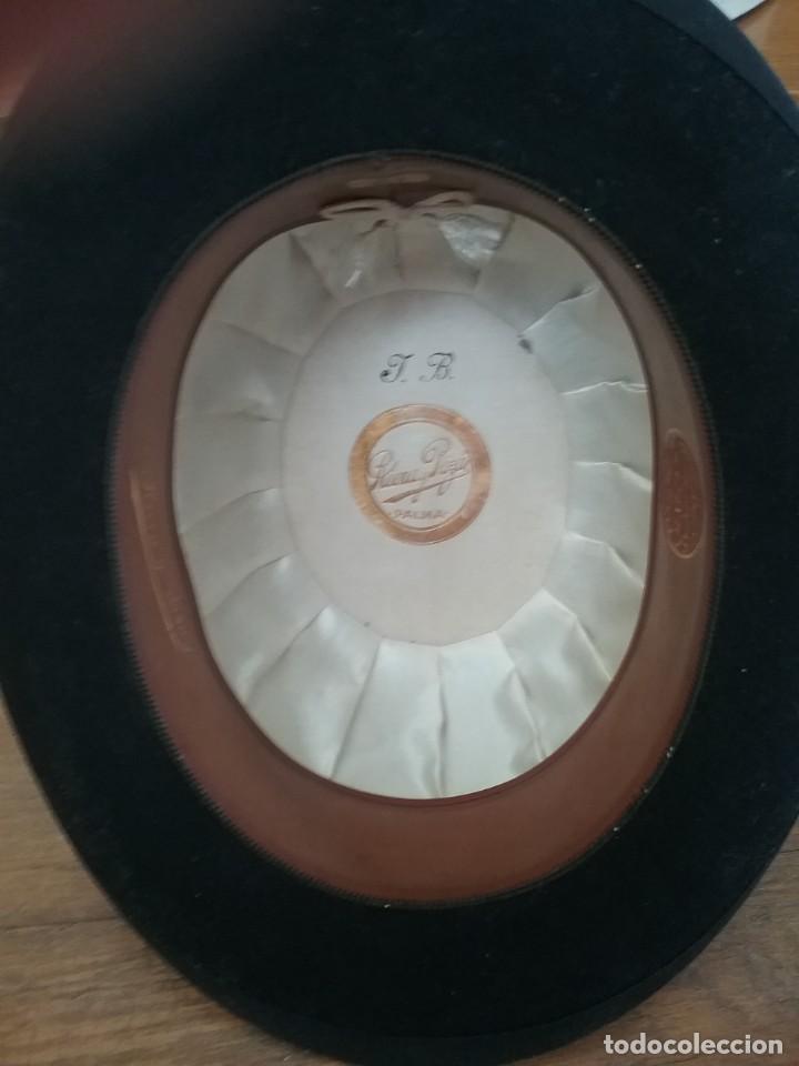 Antigüedades: Sombrero Bombín con su caja(92) - Foto 2 - 217925893