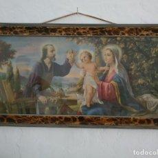 Antigüedades: ANTIGUO CUADRO DE SAN ANTONIO. Lote 217929653
