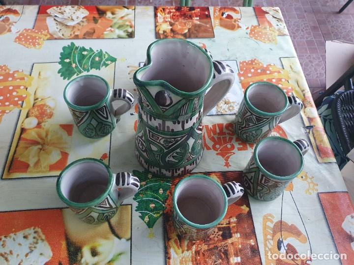 Antigüedades: Juego de jarras domingo punter - Foto 2 - 217940030