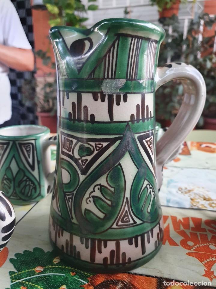 Antigüedades: Juego de jarras domingo punter - Foto 5 - 217940030