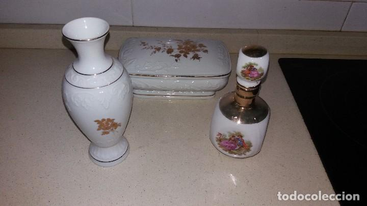 CONJUNTO PORCELANA JANDO (Antigüedades - Porcelanas y Cerámicas - Otras)