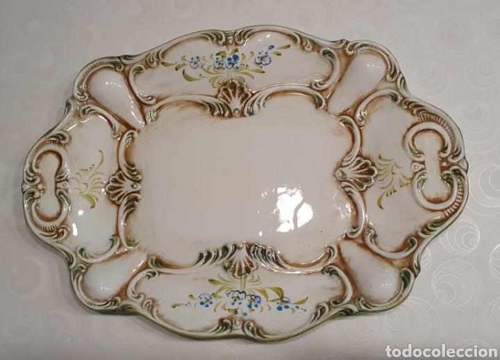 Antigüedades: Sopera porcelana floral Galos 509/4 - Foto 10 - 217963480