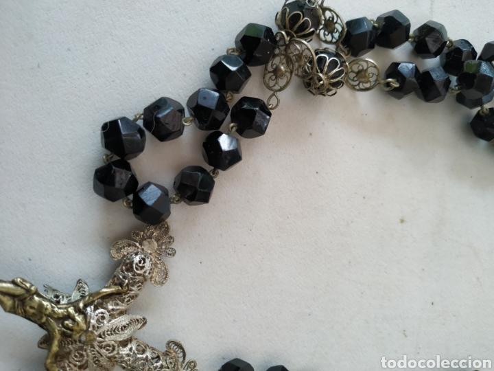 Antigüedades: Precioso rosario - Foto 9 - 217981203