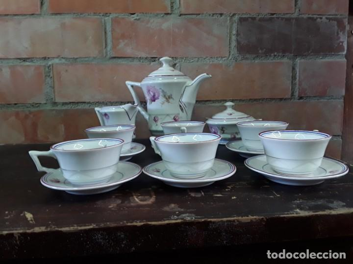 Antigüedades: Porcelana Alemana Jäger, 23 piezas. - Foto 2 - 217982940