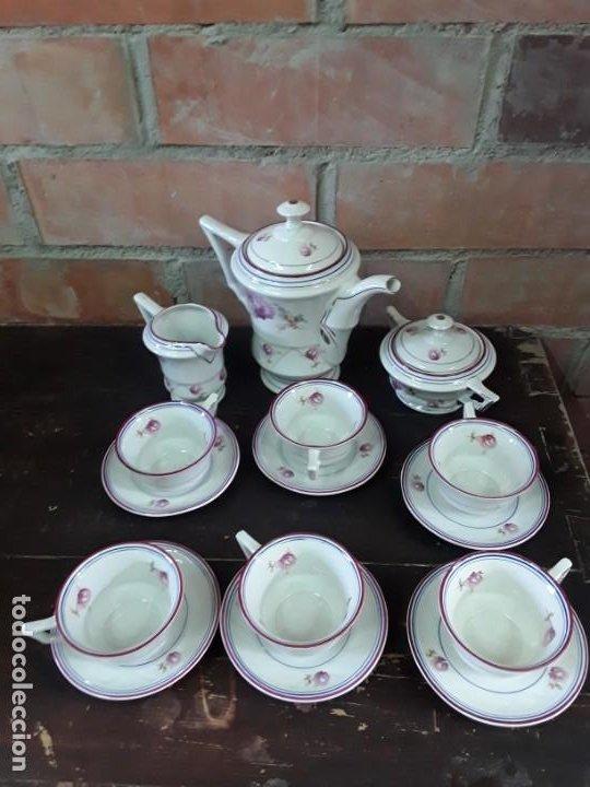 Antigüedades: Porcelana Alemana Jäger, 23 piezas. - Foto 4 - 217982940