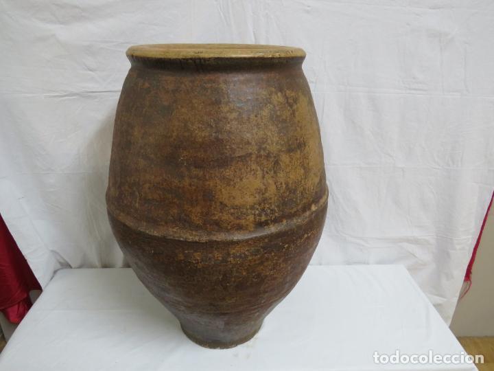 GRAN TINAJA ARAGONESA DE JARQUE O SESTRICA (Antigüedades - Porcelanas y Cerámicas - Otras)