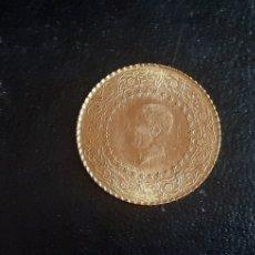 Oggetti Antichi: MONEDA DE ORO 22 K AÑOS 1969. Lote 218009847