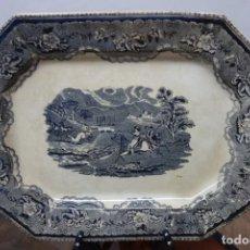 Antigüedades: FUENTE DE CERÁMICA DE CARTAGENA DEL SIGLO XIX. Lote 218038097