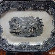 Antigüedades: FUENTE DE CERÁMICA DE CARTAGENA DEL SIGLO XIX. Lote 218038276