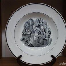 Antigüedades: PLATO HONDO DE CERÁMICA DE CARTAGENA DEL SIGLO XIX. Lote 218038817