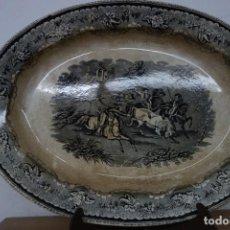 Antigüedades: FUENTE DE CERÁMICA DE CARTAGENA DEL SIGLO XIX. Lote 218039255