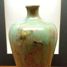 Antigüedades: ANTIGUO GRAN JARRÓN LÁMPARA CERÁMICA CHINA SHIWAN MARCAS SELLO. Lote 218040613