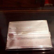 Antigüedades: PITILLERA DE PLATA. Lote 218046436