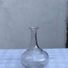 Antigüedades: ANTIGUO DECANTADOR DE CRISTAL. Lote 218057202