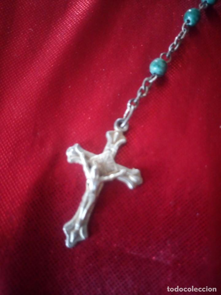Antigüedades: Antiguo rosario de jerusalen. - Foto 2 - 218070665