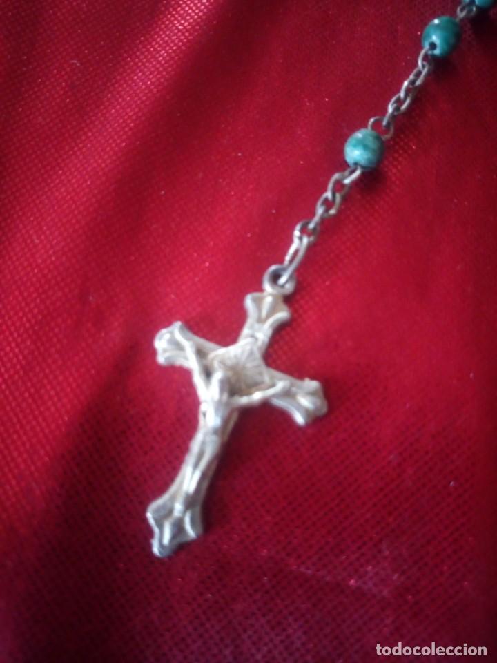 Antigüedades: Antiguo rosario de jerusalen. - Foto 3 - 218070665