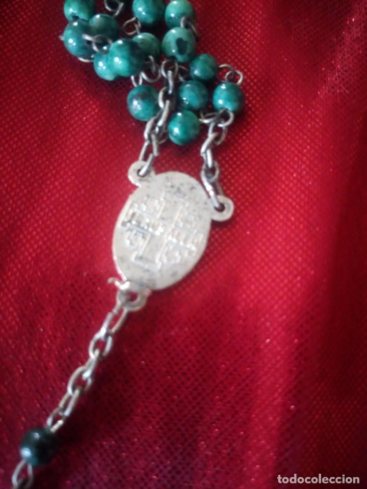 Antigüedades: Antiguo rosario de jerusalen. - Foto 4 - 218070665