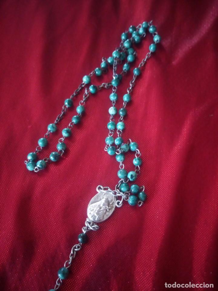 Antigüedades: Antiguo rosario de jerusalen. - Foto 6 - 218070665