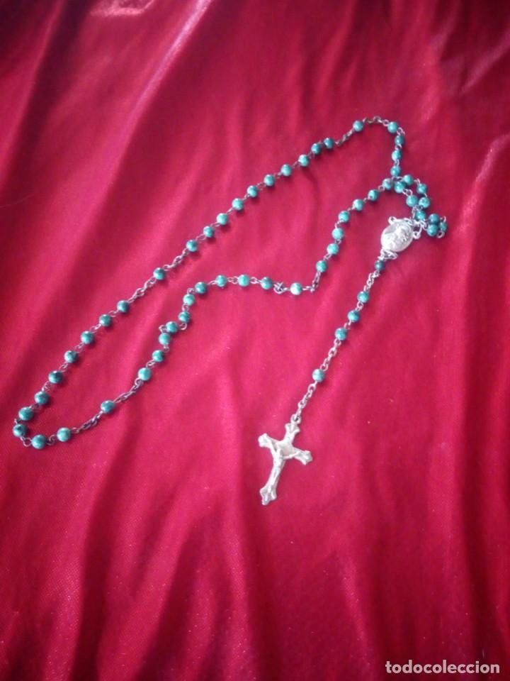 Antigüedades: Antiguo rosario de jerusalen. - Foto 7 - 218070665