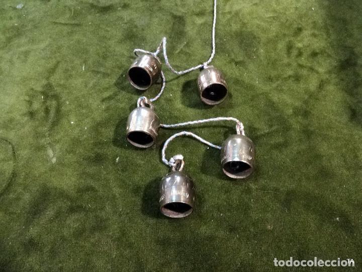 Antigüedades: ristra de cascabeles o campanas - Foto 2 - 218083960