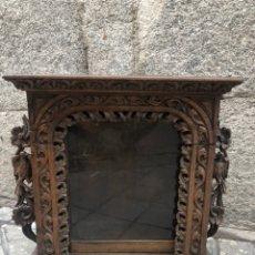 Antigüedades: VITRINA O URNA PORTUGUESA S.XVIII. Lote 218099003