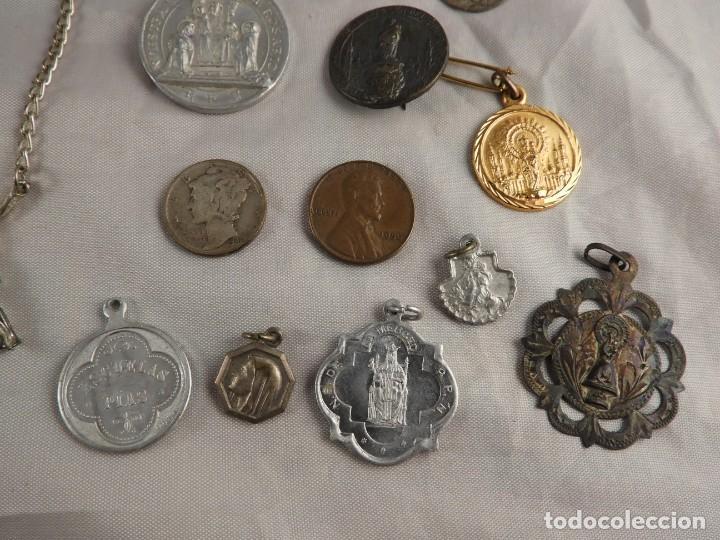 Antigüedades: ROSARIO, CRUCES Y MEDALLAS RELIGIOSAS - Foto 8 - 218113552