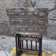 Antigüedades: BARGUEÑO DE PLATA. Lote 218116248