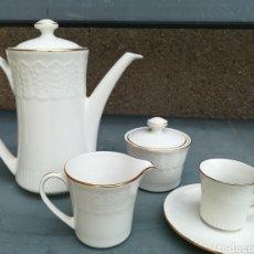 Antigüedades: JUEGO CAFÉ PORCELANA CHINA. Lote 218123932