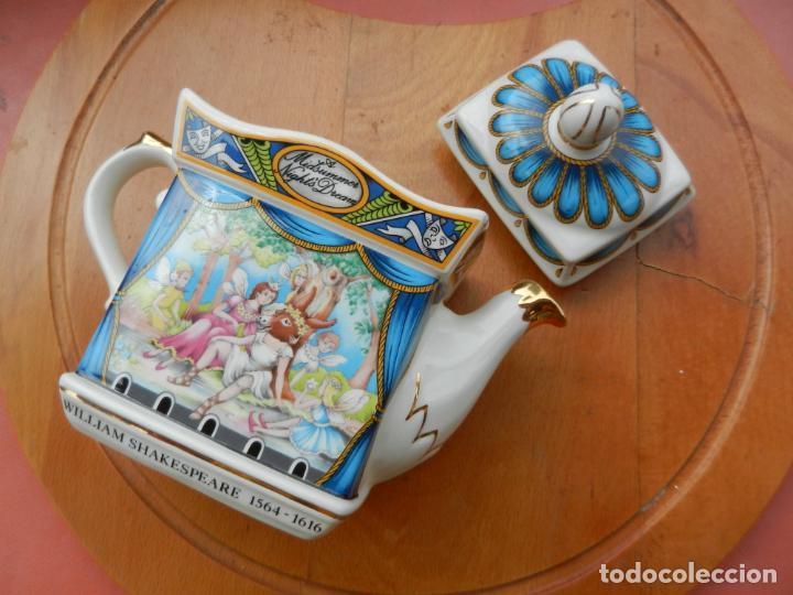 COLECCIÓN SADLER CLASSIC - SUEÑO DE UNA NOCHE DE VERANO 4444 REG. DISEÑO Nº 2010603 - ENGLAND. (Antigüedades - Porcelanas y Cerámicas - Inglesa, Bristol y Otros)