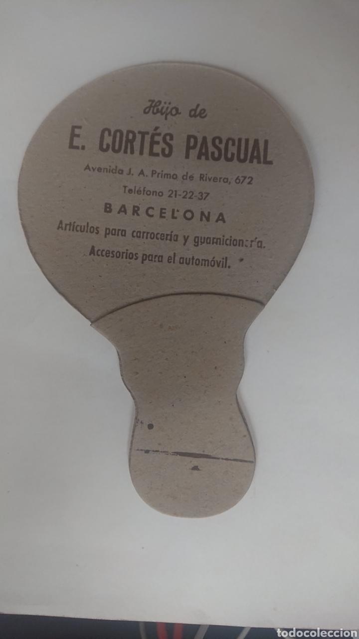 Antigüedades: ABANICO DE CARTON PAY-PAY HIJOS DE E. CORTES PASCUAL BARCELONA - Foto 2 - 218129213