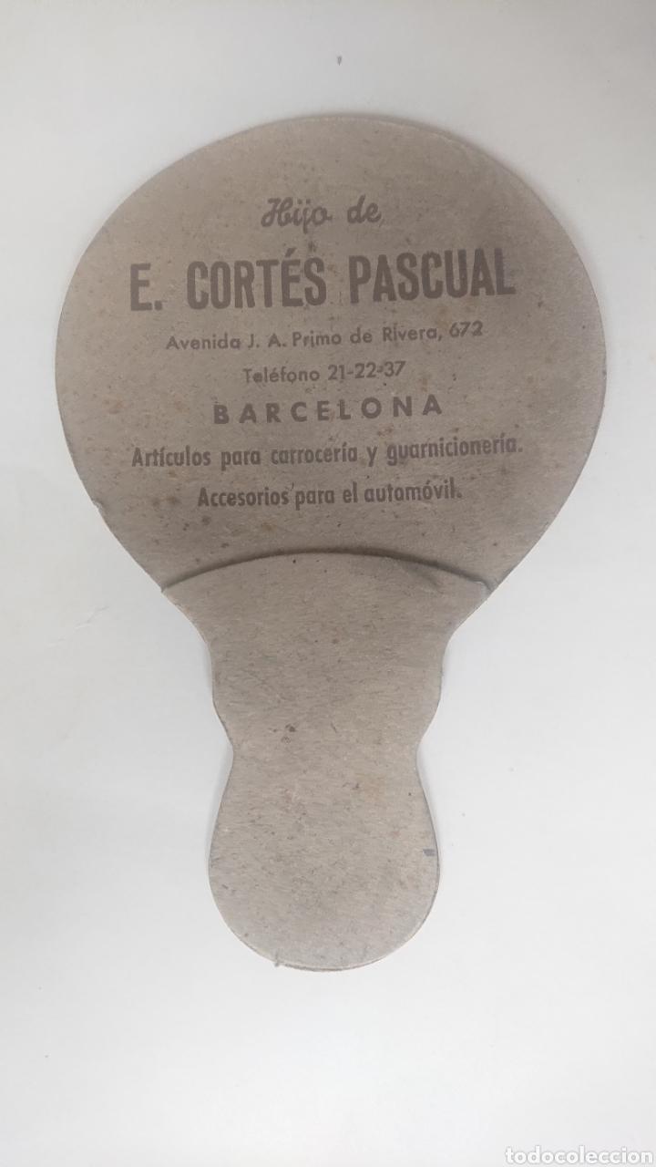 Antigüedades: ABANICO DE CARTON PAY-PAY HIJOS DE E. CORTES PASCUAL BARCELONA - Foto 2 - 218129480