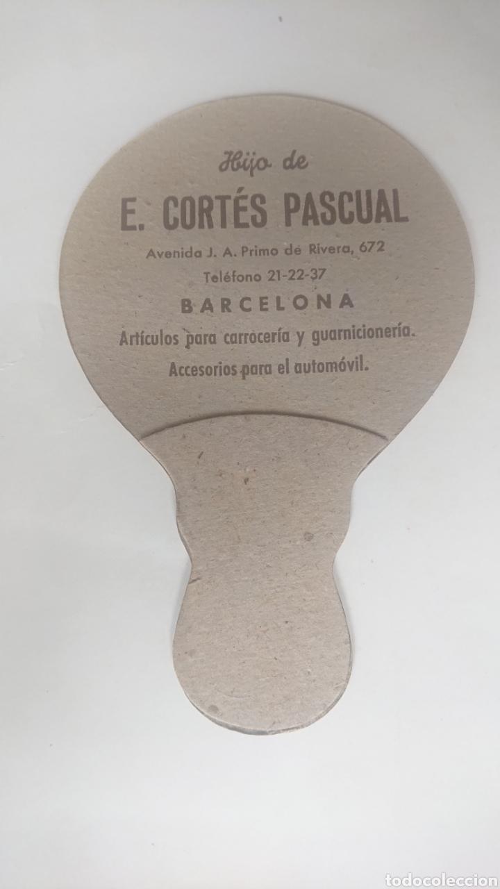 Antigüedades: ABANICO DE CARTON PAY-PAY HIJOS DE E. CORTES PASCUAL BARCELONA - Foto 2 - 218129732
