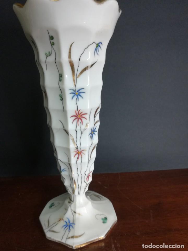 MAGNIFICA COPA DE OPALINA BLANCO (Antigüedades - Cristal y Vidrio - Baccarat )