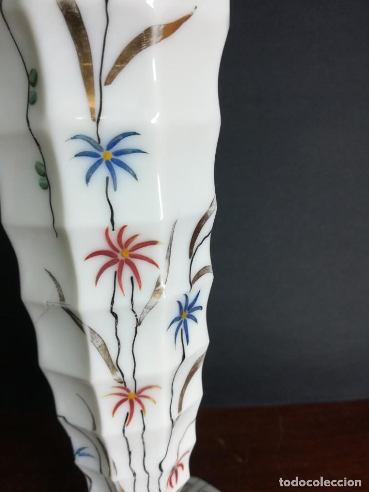 Antigüedades: Magnifica copa de opalina blanco - Foto 3 - 218145813
