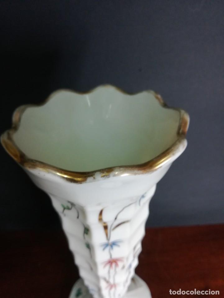 Antigüedades: Magnifica copa de opalina blanco - Foto 5 - 218145813